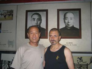 Chen Xiang y Pedro Valencia