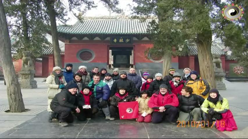 Viajando al templo de Shaolin